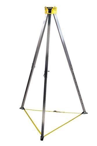 Aluminum Hoist - MSA 10102002 Workman Aluminum Tripod, 8' Height