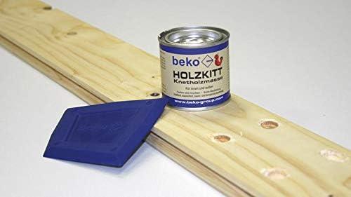 BEKO 23205 Holzkitt Knetholzmasse 110 g eiche-dunkel