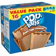 (Kellogg's Pop-Tarts Value Pack, Brown Sugar Cinnamon Toaster Pastries, 1.76 oz, 16)