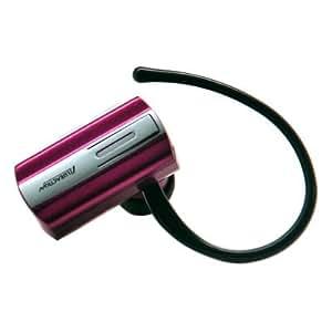 Mini Wireless Bluetooth Earpieces/ Headset/ Headphones for Apple iPad Mini 2 - Hot Pink + Stars Strips Wristband
