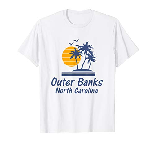 - Outer Banks OBX North Carolina T-Shirt NC Beach State Gifts