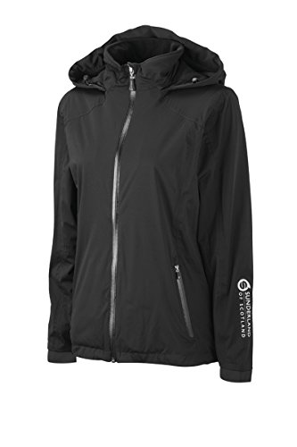 Sunderland Ladies SUNLR52 Whisperdry Ultra-Lightweight Waterproof Golf Jacket Black M