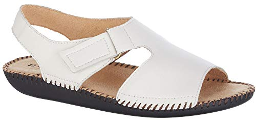 Naturalizer Womens Scout II Sandals 9.5 White