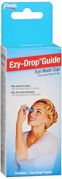 Flents Ezy-Drop Guide Eye Wash Cup - 6 ea, Pack of 6