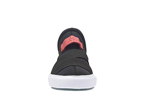 Clarks Laika Step - Zapatos de cordones de Lona para hombre negro negro