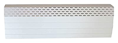 """Neat Heat Baseboard Covers Bright Front Cover, 72"""", White"""