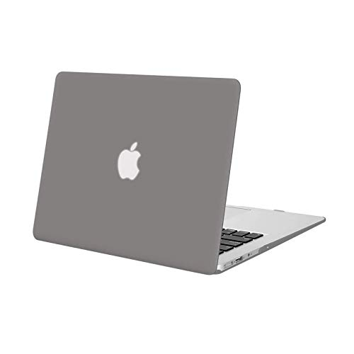 MOSISO MacBook Air 13 inch Case (Models: A1369 & A1466, Older Version 2010-2017 Release), Plastic Hard Shell Case Cover Only Compatible with MacBook Air 13 inch, Gray
