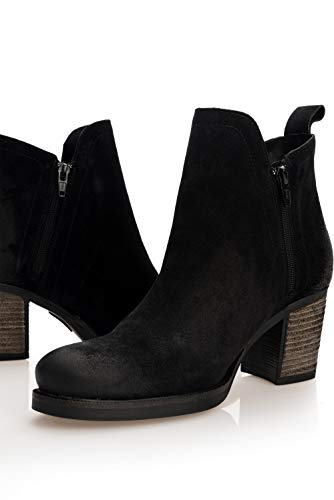 zipper with SALSA Black Boots SALSA Boots qIHaOn