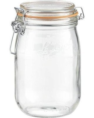 Le Parfait French Glass Canning Jar with 85mm
