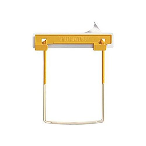 Jalema U-Clip File Fastener- Yellow, 100/Box Clip File