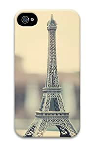 Iphone 4 4s 3D PC Hard Shell Case Eiffel Tower 5 by Sallylotus by ruishername
