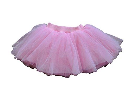 Soffice Cotone Strati 4 Remeehi Interno Multicolor Soffice Garza Vestono Si Rosa Mini Gonna Ragazze In Di qxF6Bqw