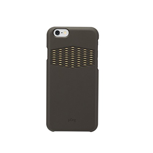 Iphone Signal Booster - Pong Sleek iPhone 6/6s Case - with Built in Antenna Technology - Black