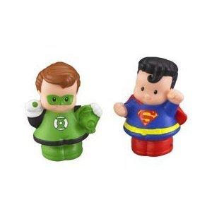 Little People Friends Lantern Superman