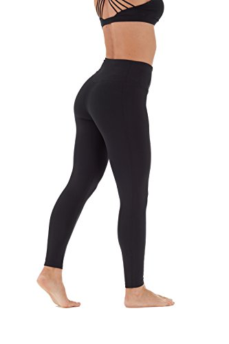 Marika High Rise Tummy Control Legging 27'' Black