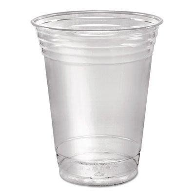 Ultra Clear Cups, Squat, 16 oz, PET, 50/Pack (4 Pack)