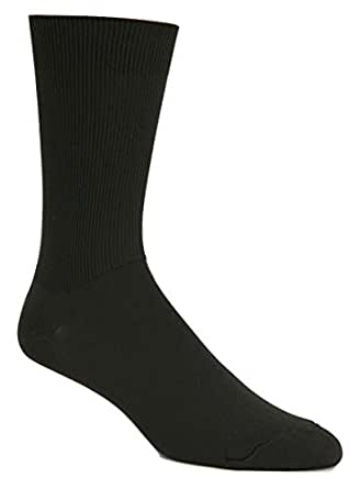 J.B. Field's Expedition Adventure Travel Quick Dry Socks (2 Pairs) (Large (8-12 Shoe), Navy)