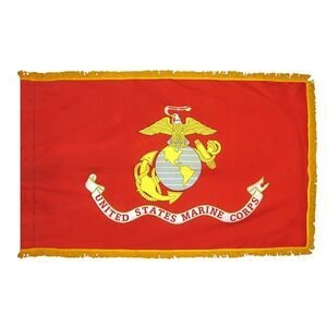 Annin Flagmakers 439105 3 ft. X 5 ft. U.S. Marine Corps Flag