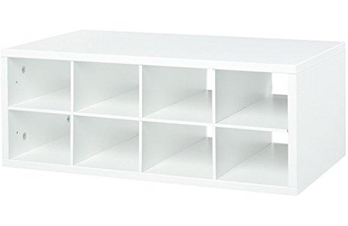 Organized Living freedomRail 8-Cubby Shoe Storage OBox - ...