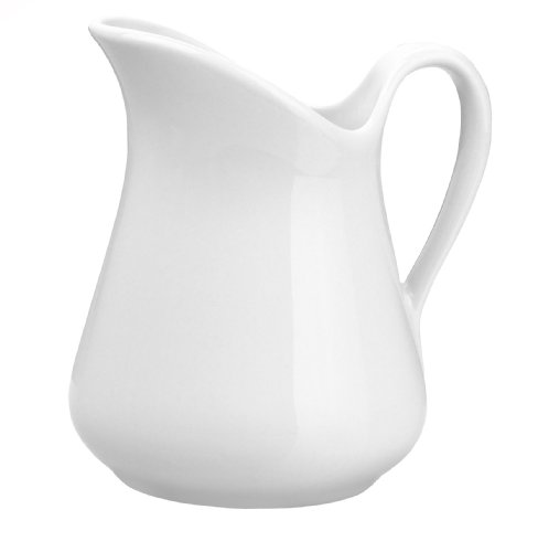 Pillivuyt 9-Ounce Porcelain Mehun Milk Jug
