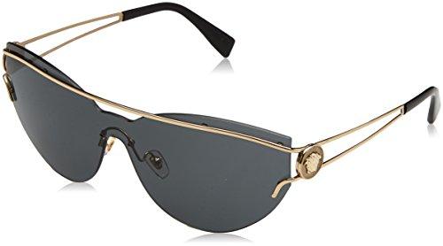 Versace THE VERSACE MANIFESTO VE 2186 PALE GOLD/GREY women Sunglasses