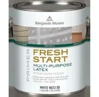 1 quart multi purpose latex primer n023 for Benjamin moore eco spec paint reviews