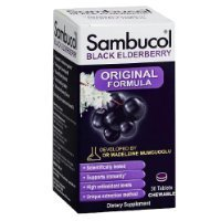 Sambucol Black Elderberry Immune System Support Original Formula Chewable Tablets  30 Count Thank You To All The Patrons We Hope That He Has Gained The Trust From You Again The Next Time The Service