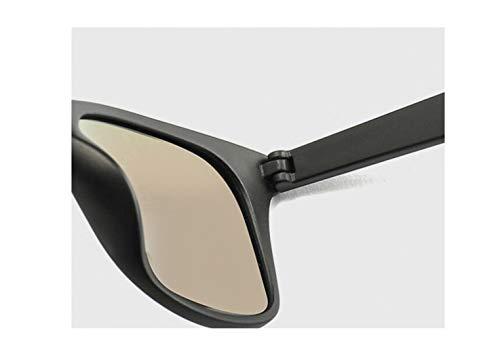 Visión Clásico Personalidad Protección Marco Excursionista Unisex Sol Metal Ligero Hd Jzhyj Estilo Moda Uv400 Vintage De Polarizador Envolvente Gafas aq0PA0