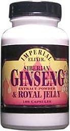 IMPERIAL ELIXIR GINSENG Siberian Eleuthero Royal Jelly 100 CAPS