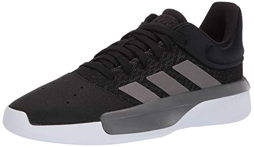 adidas Men's Pro Adversary Low 2019, Black/Grey/White, 9 M US (Best Adidas Sneakers 2019)