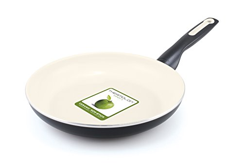 GreenPan Rio 10 Inch Ceramic Non-Stick Fry Pan, Black