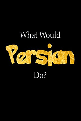 Download What Would Persian Do?: Persian Designer Notebook pdf