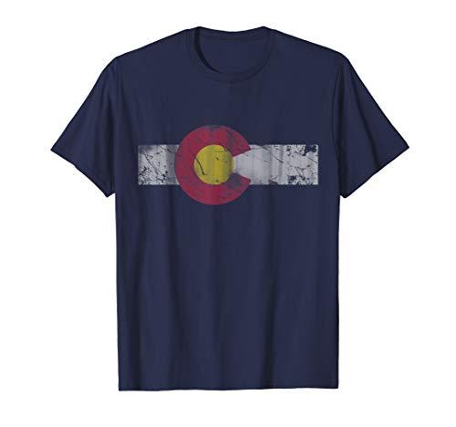 Vintage Patriotic Flag of Colorful Colorado ()