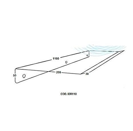 Deflettore Aria 110cm per Condizionatori e Split-Protezione aria ...