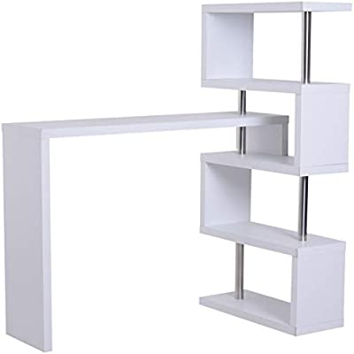 Homcom – Moderna mesa para ordenador/escritorio para PC con ...