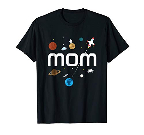 Mom Outer Space Birthday Party T-Shirt ()