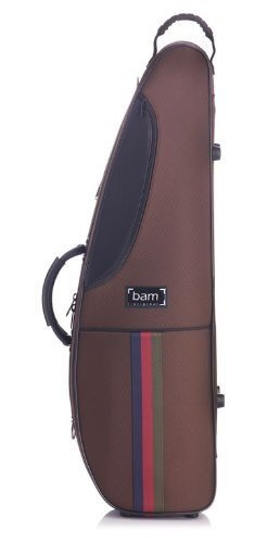 Bam France Classic - St. Germain - Shaped 4/4 Violin Case with Chocolate Exterior