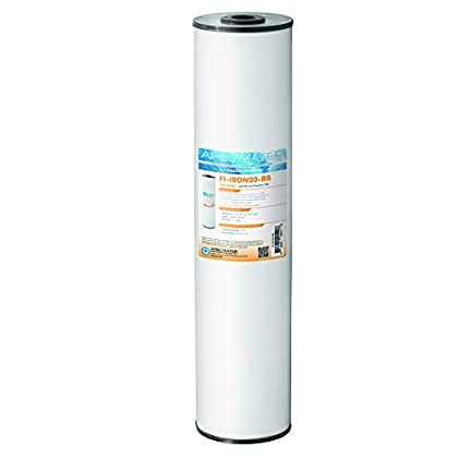 Image of APEC Water Systems 20' Whole House Big Blue Replacement Water Filter High Flow Iron Reduction (FI-IRON20-BB)