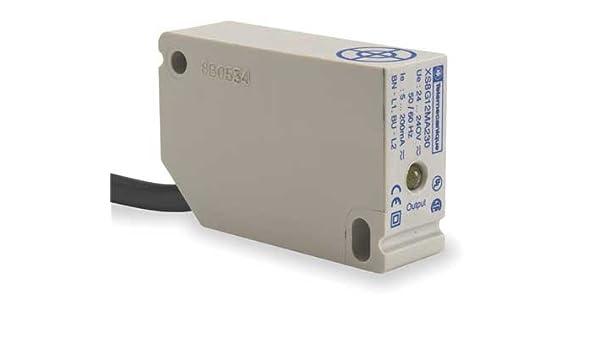 Rctngulr Proxmity Sensr,2 Wire,NO,Unshld TELEMECANIQUE SENSORS XS8G12MA230