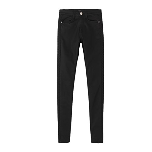 tom-tailor-womens-coated-trousers-black-size-us-28w-fr-38