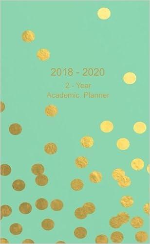 amazon com 2018 2020 2 year academic planner pocket weekly