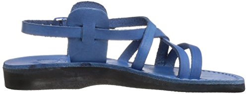 Gladiator Women's Jerusalem Tzippora Blue Sandals tTYUWWqxwg