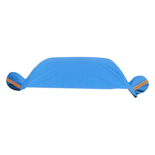 GYMNASTIKA halve auto cover top voorruit cover zonnescherm beschermer sneeuw stof vorst Guard, opvouwbare blokken UV…