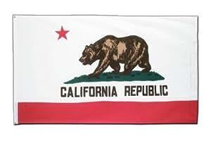 MaxFlags ®, diseño de bandera de Estados unidos California 90 x 150 cm, Drapeau - 90 x 150 cm
