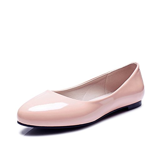 Plus Fashion Shoes Flats Shoes Heels Woman Work Pink Women Flat Nutsima Casual Autumn Spring Size FqgwdFnUH