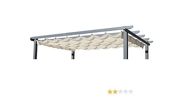 Outflexx tejado de repuesto para pérgola, Jardín De Pergola en ...