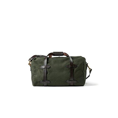 Filson Men's Small Duffel Bag, Otter Green, One Size