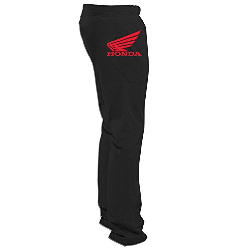 (Evaly Men's Honda Two Wheeler Logo Fashion Short Running Pants Black Size)