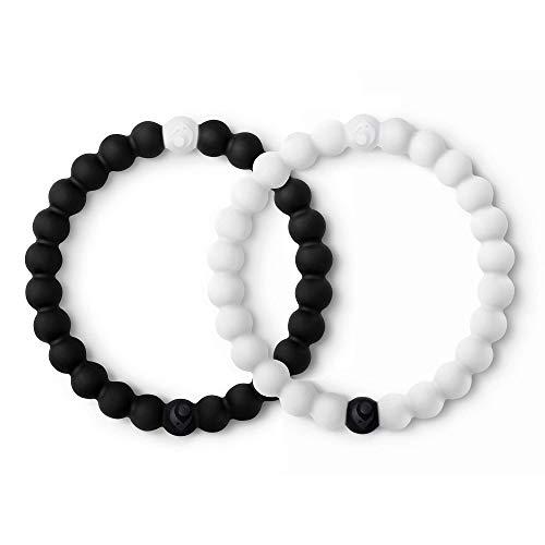 Lokai Black & White Bracelet Set, 6.5