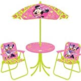 Disney Minnie Mouse Springtime Garden Party 4-piece Patio Set